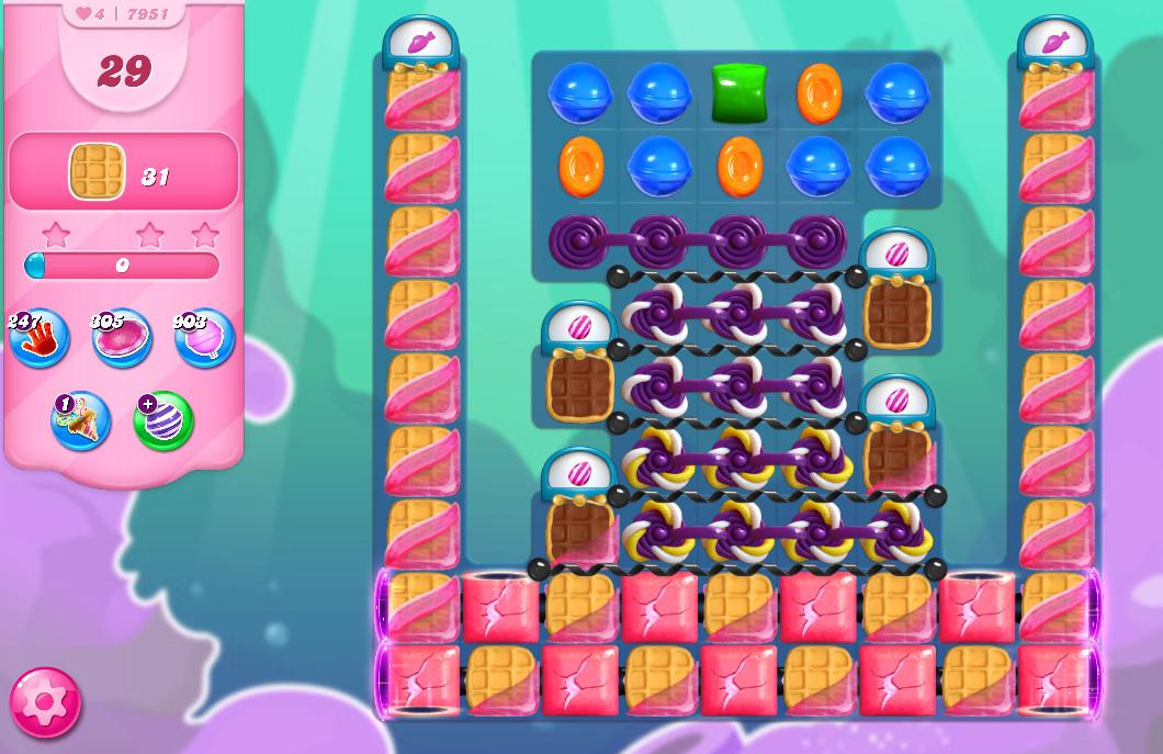 Candy Crush Saga level 7951