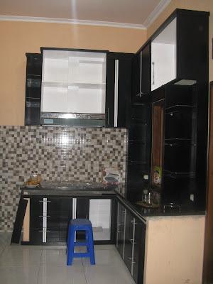 Desain ruangan dapur sempit