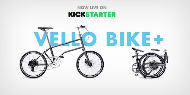 PR | VELLO Bike+ is the World's First Self-Charging Electric Folding Bike