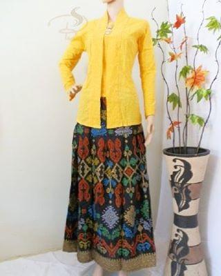 Rok dan Blouse Batik Ayunda Kuning