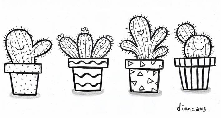 Gambarnya Aldriana: hepi kaktus