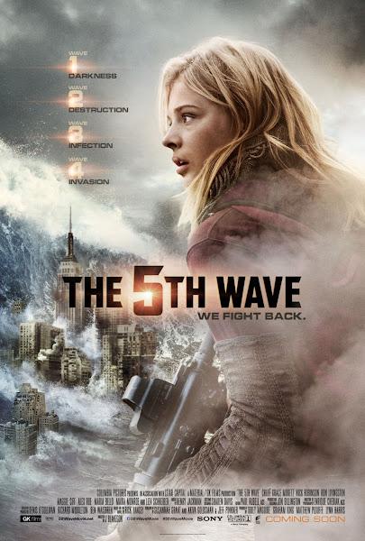 A 5ª Onda | Sci-fi com Chloë Grace Moretz ganha novos posteres