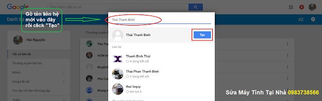 Thêm địa chỉ maill mới vào Gmail - H05