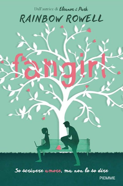 Cover reveal #1:  Fangirl di Rainbow Rowell