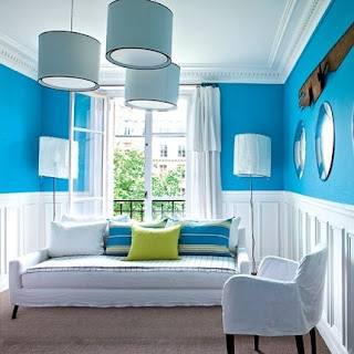 sala azul celeste