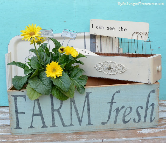 Farm fresh upcycled projects