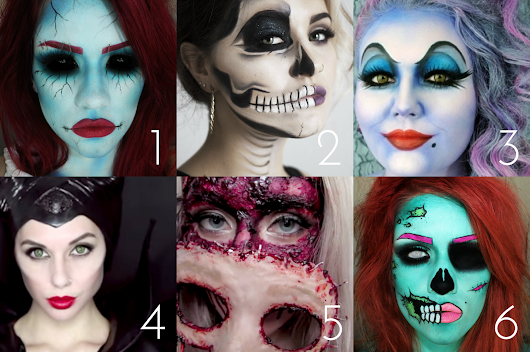 6 of the Best Halloween Makeup Looks
