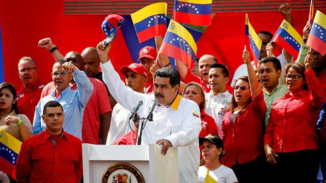 """Maduro llamó """"títere diabólico"""" a Guaidó y lo acusó de planear un magnicidio"""