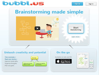 Bubbl.us: crear mapas conceptuales