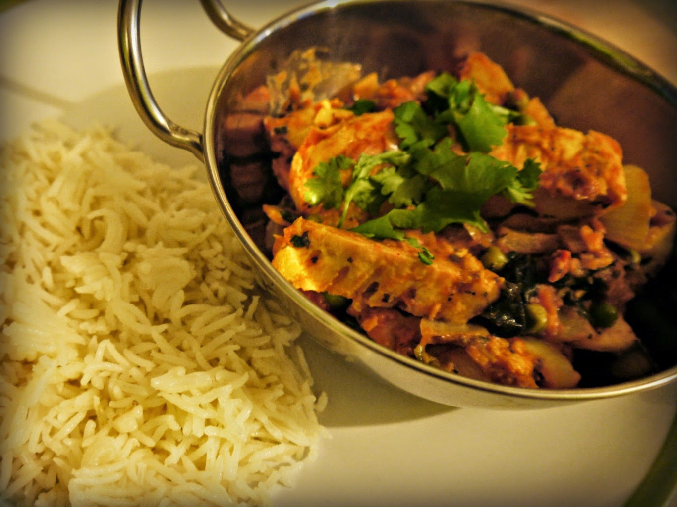 curry and rice, Indian