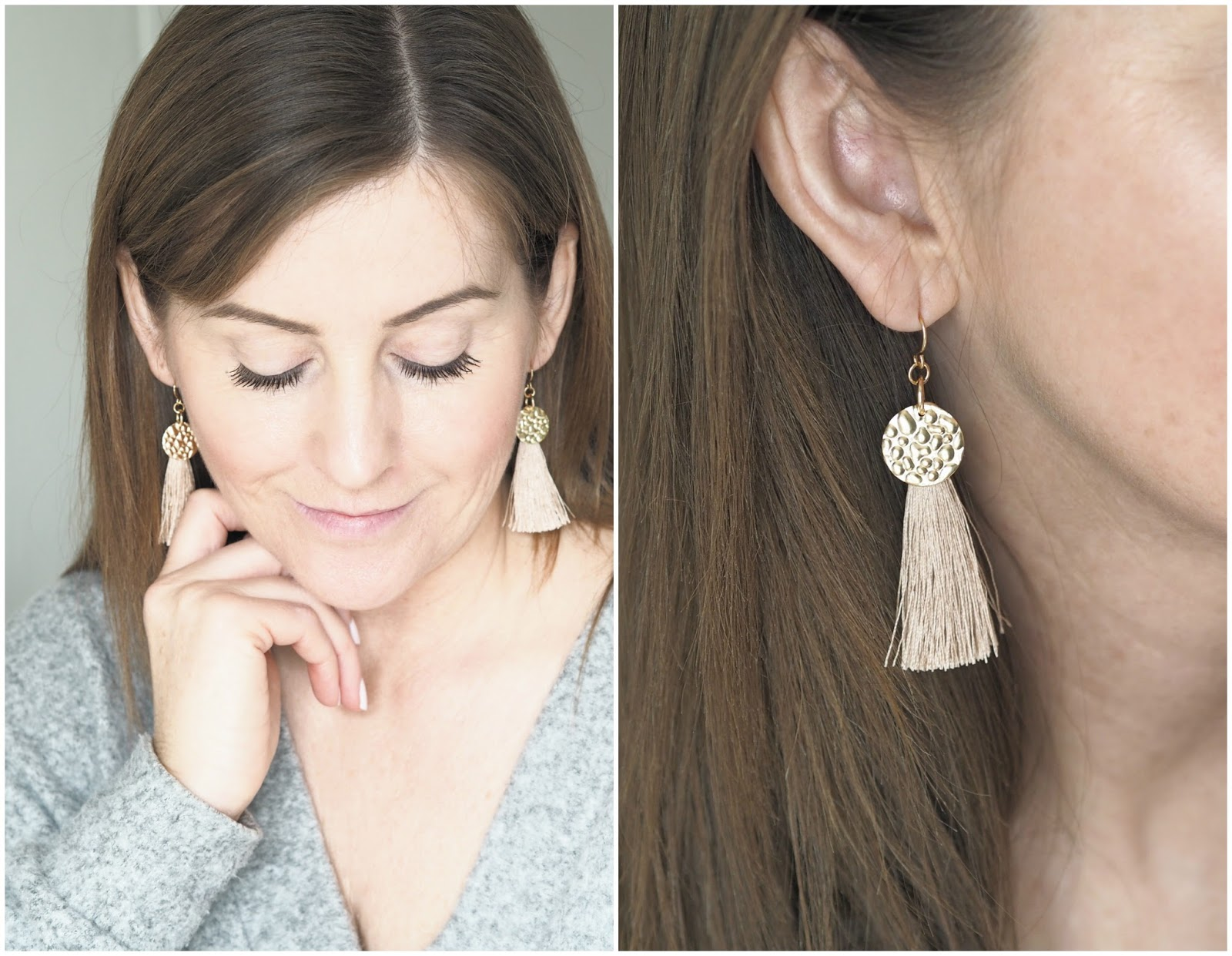 Tassell earrings from Lovisa \ style accessories \ jewellery \ Priceless Life of Mine \ Over 40 lifestyle blog