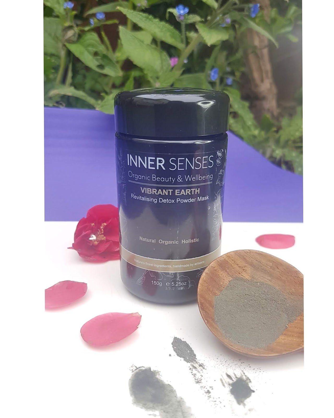 Inner Senses Vibrant Earth Face Mask