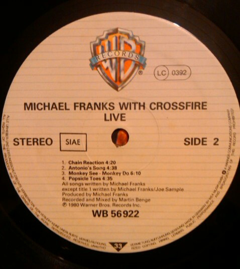 Michael Franks Sleeping Gypsy