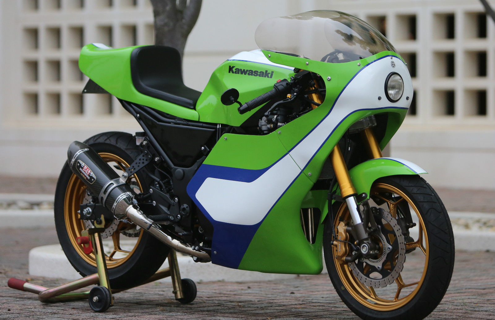 kawasaki 300 ninja - h2 gary nixon race bike replica | 99garage