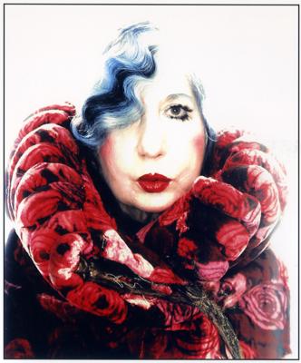 Anna Piaggi Portrait