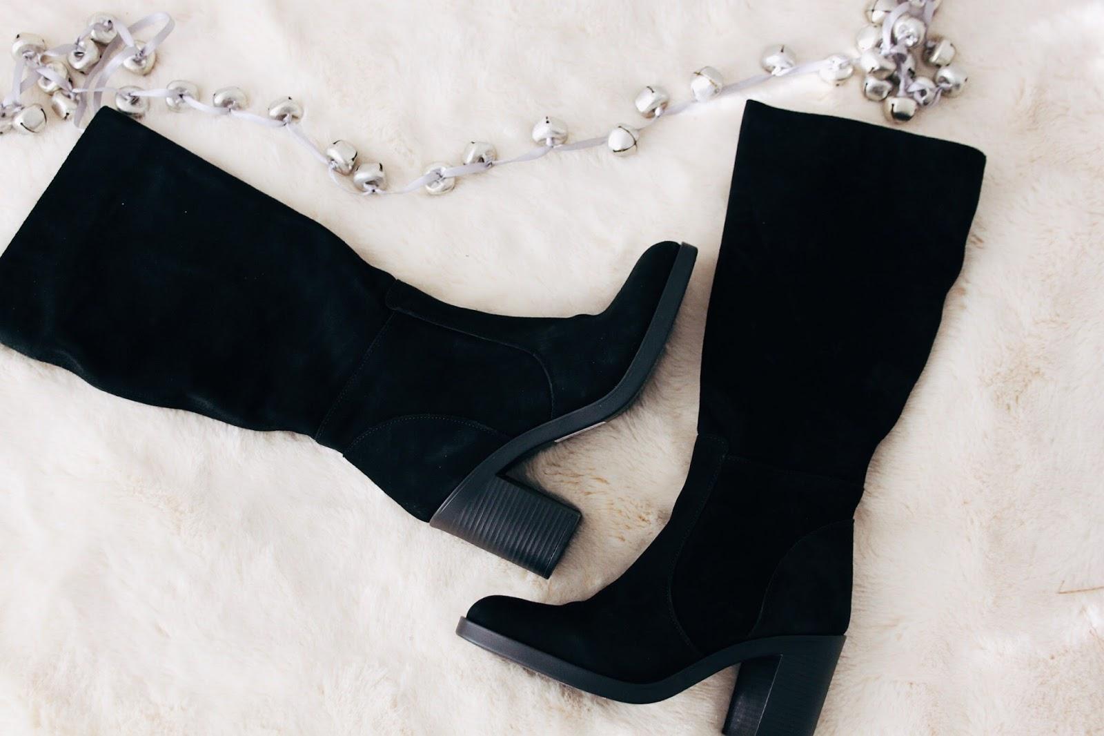 laura ashley black boots