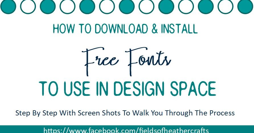 Fields Of Heather All About Fonts Text In Cricut Design Space