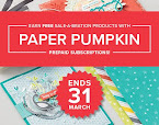 Try Paper Pumpkin Today!