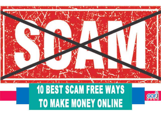 Scam free ways to make money online