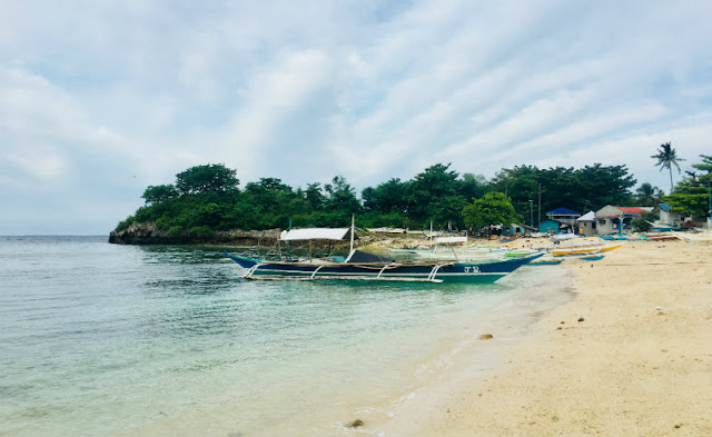 how to go to Guimbitayan Beach Malapascua Island Cebu