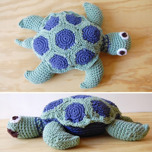 Sea Turtle Amigurumi - Free Pattern