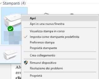 Stampante-Pannello