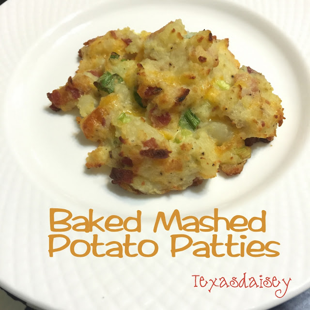 A Recipe for Baked Mashed Potato Paties by Texasdaisey