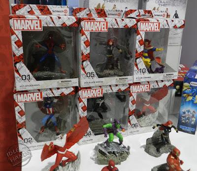 Toy Fair 2017 Schleich Marvel Comics Figures