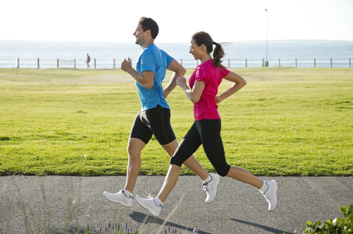 Caminando y trotando se puede bajar de peso