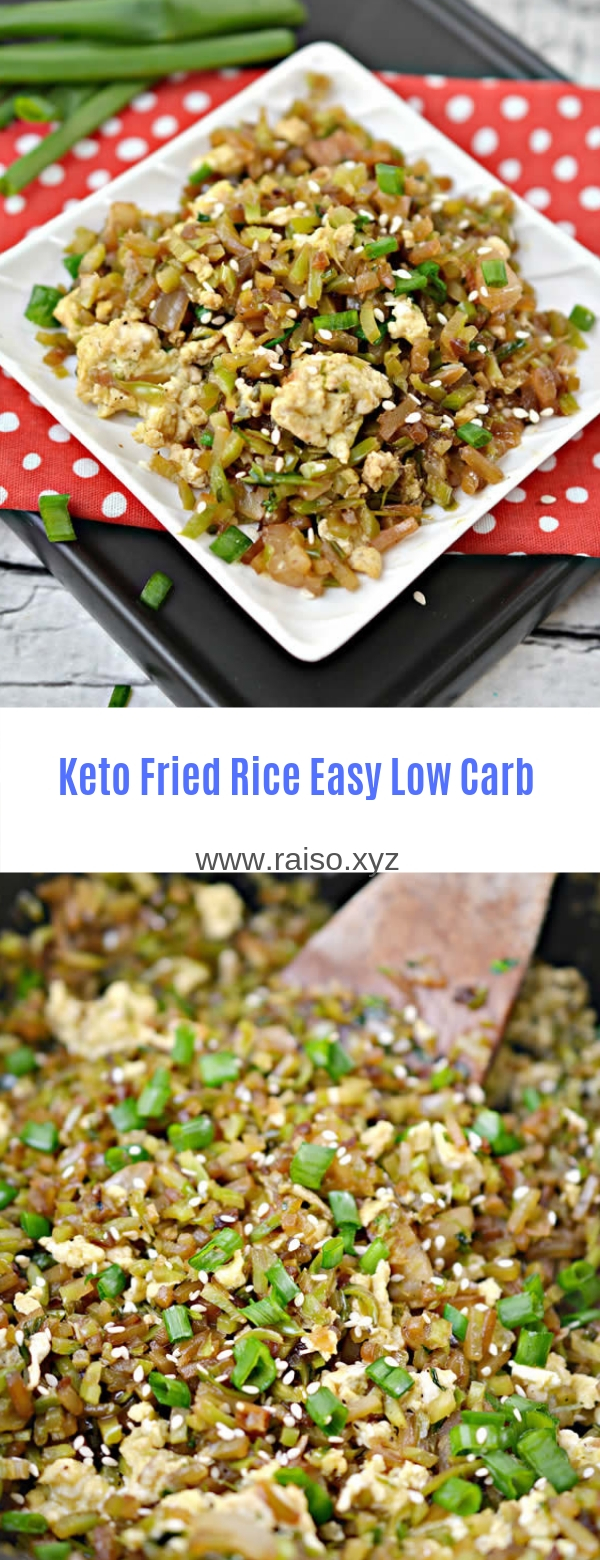 Keto Fried Rice Easy Low Carb