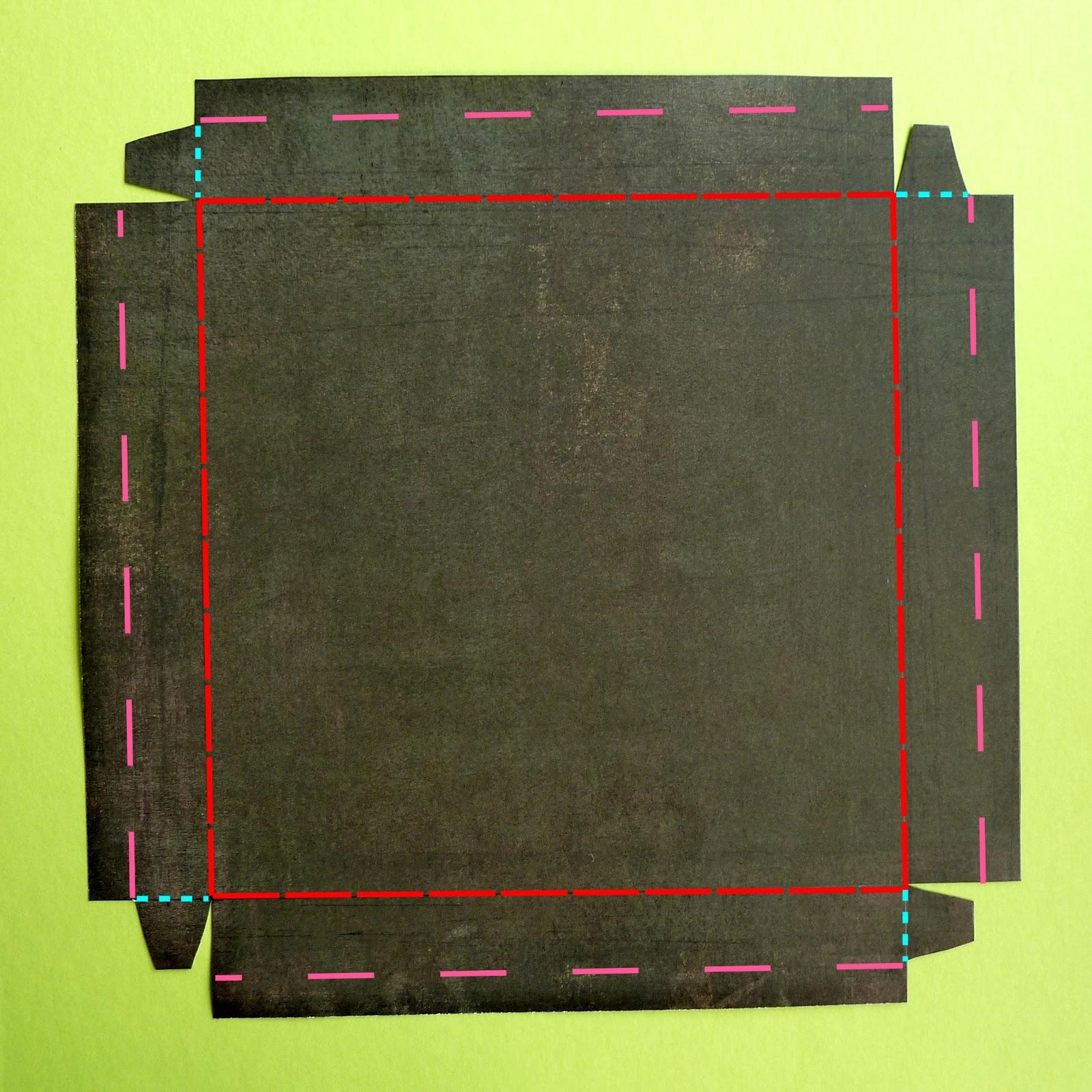 l 39 atelier m tallique embellir une bo te en carton avec une simple feuille de papier. Black Bedroom Furniture Sets. Home Design Ideas
