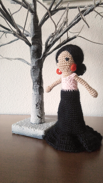 amigurimi: flamenca