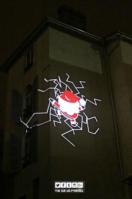 Noël à Pau le père Noël n'a pas de pot