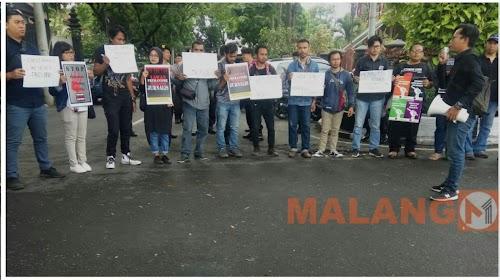 Jurnalis Malang Raya, Tuntut Presiden Cabut Remisi Pembunuh Jurnalis