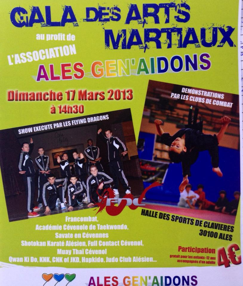 boxing events paca promotion des sports de combat gala des arts martiaux le 17 03 2013 ales. Black Bedroom Furniture Sets. Home Design Ideas