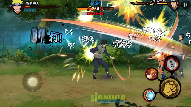 Download Game Naruto Mobile Fighter Mod Apk Versi Terbaru