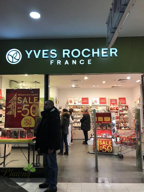 Cửa hàng Yves Rocher tại Mátxcơva