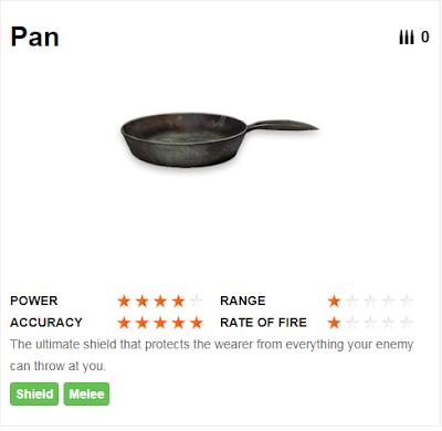 Deskripsi Senjata Pan di Free Fire