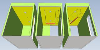 Tiga macam model plafon untuk ruang tamu