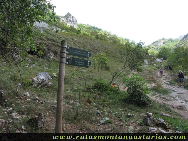 Ruta Caín Terenosa: Saliendo de Bulnes a Pandébano