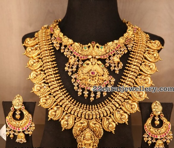 Peacock Set by I Bajrang Pershad Jewellery