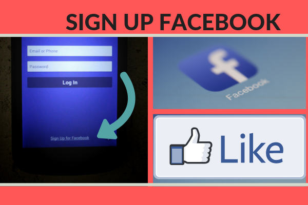 Sign Up For New Facebook Account