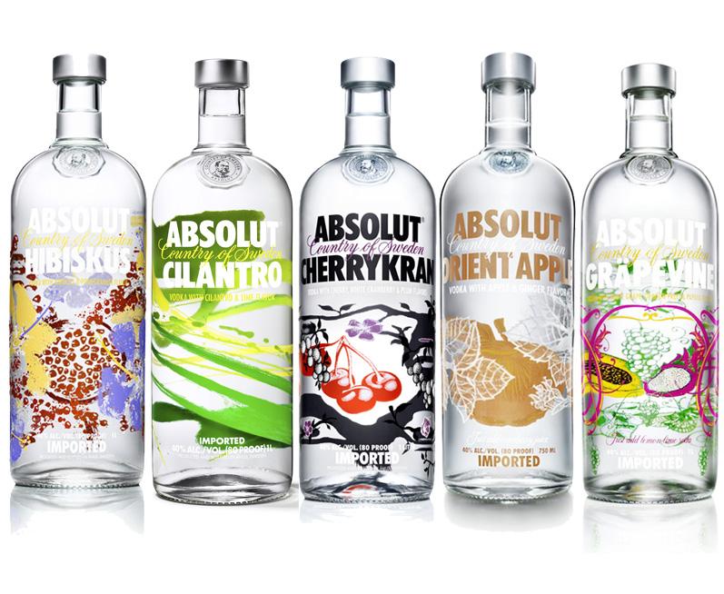 new absolut bottle designs