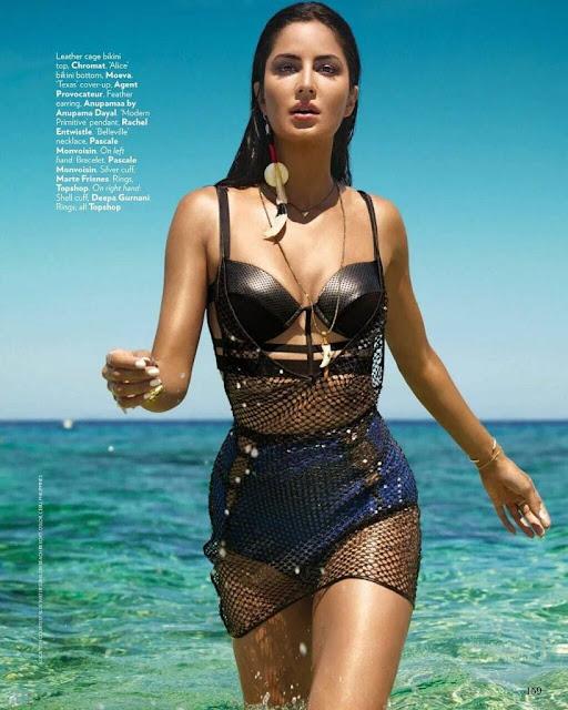 Beach Girl Katrina Kaif Vogue Magazine June 2016 – HQ pics