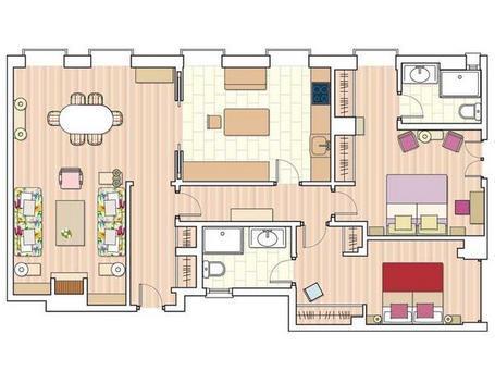 Planos de casas modelos y dise os de casas plano de casa for Diseno de apartamentos de 90 metros cuadrados