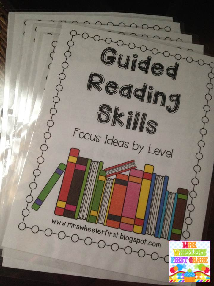Mrs. Wheeler's First Grade Tidbits: Guided Reading In 1st Grade