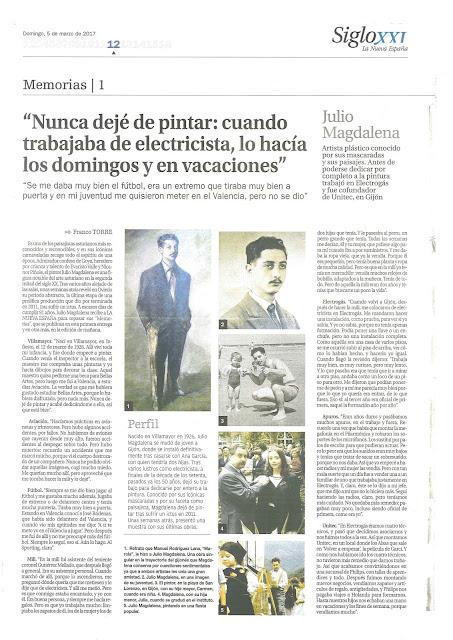 Reportaje Julio Magdalena