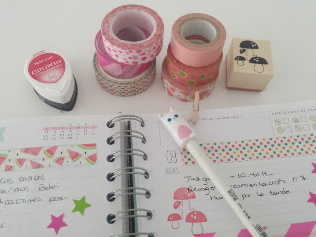 ideas para decorar la agenda de Mr Wonderful