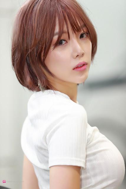 4 Shim Min Hee - Seoul Auto Salon - very cute asian girl-girlcute4u.blogspot.com