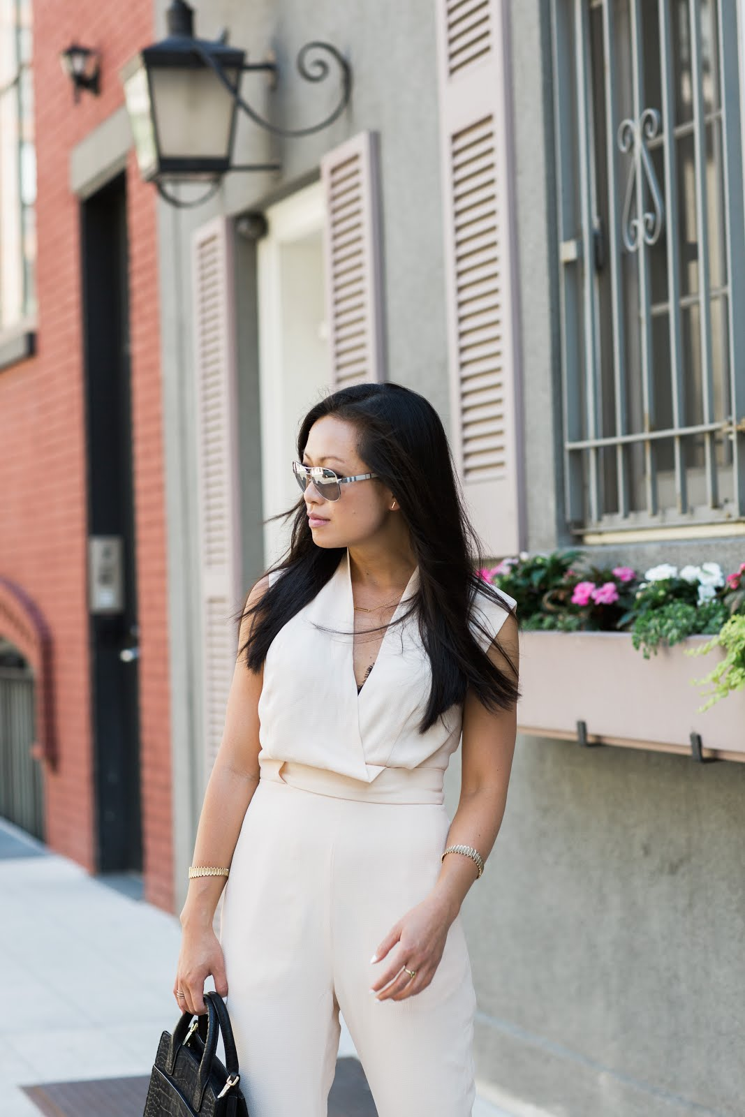 nude jumpsuit finders keepers summer style